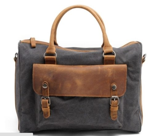 waxed canvas tote handbags
