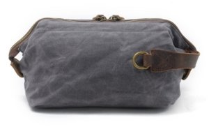 zipper dopp kit bags