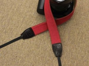 canon leather camera strap