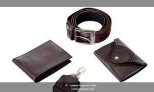 leather corporate gifts ideas