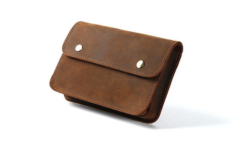 b995fa3e704e rustic anniversary leather gifts travel wallet - FlixGifts
