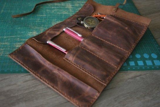 handmade single watch case