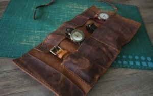 mens travel watch case