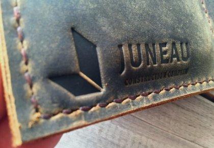 portfolios with logo for Juneau Construction