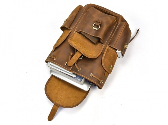 leather backpacks for school