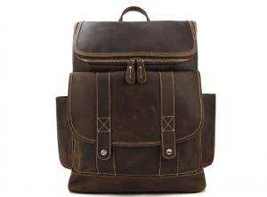 jansport leather backpack