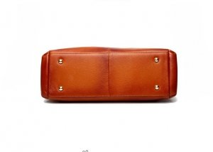 brown leather handbags