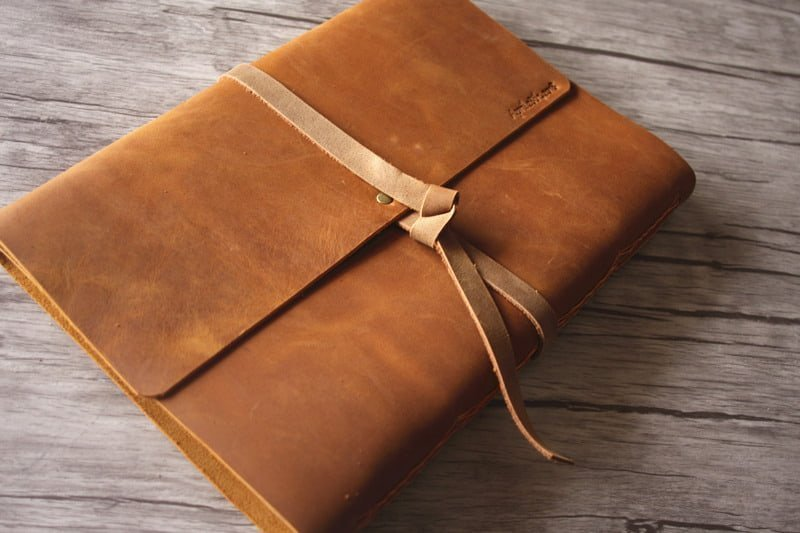 Ambitions Personalized Leather Bound Photo Albums