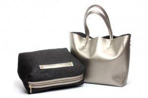 designer leather tote purse