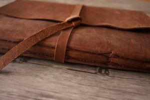 genuine leather scrapbook albums