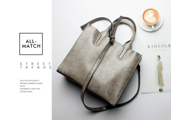 grey suede handbags