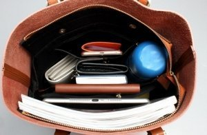large capacity leather tote handbags