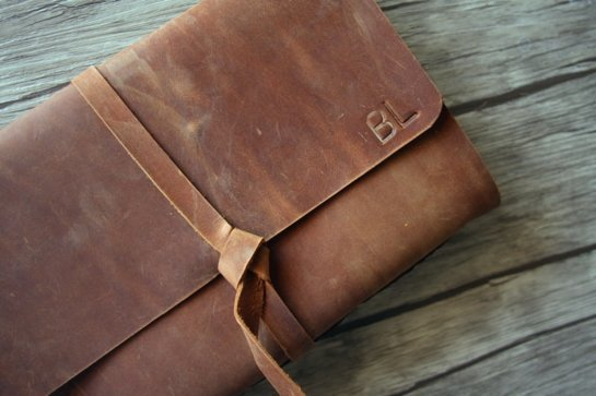 leather bound journal personalized gifts