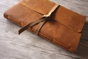 leather bound photo albums