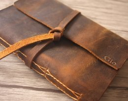 leather cover photo album