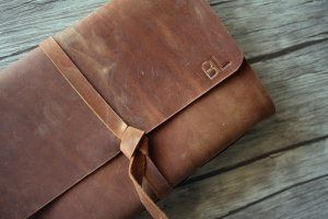leather cover photo album personalized gifts