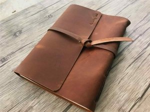 leather cover photo albums