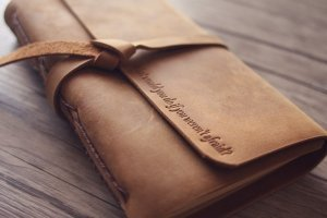 leather gifts vintage journals