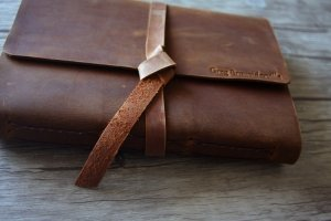 leather travel journals for sale
