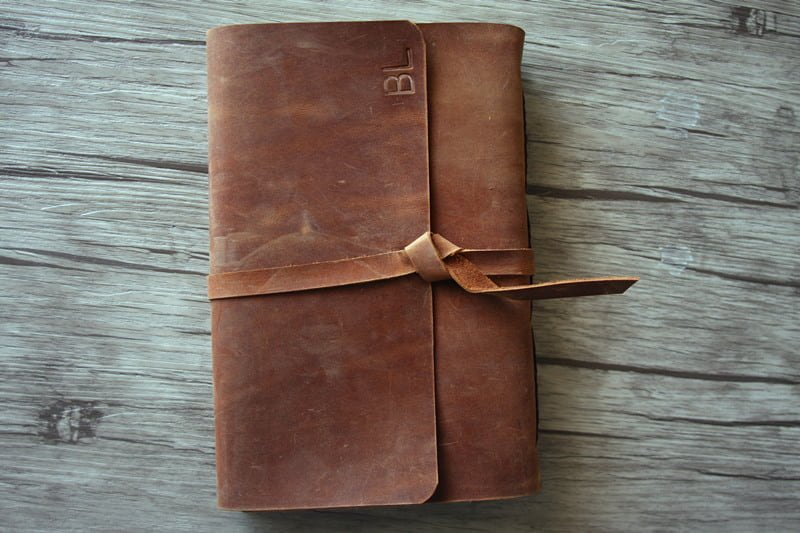 Big Dreams Personalized Leather Bound Journals