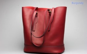 red leather womens tote bags