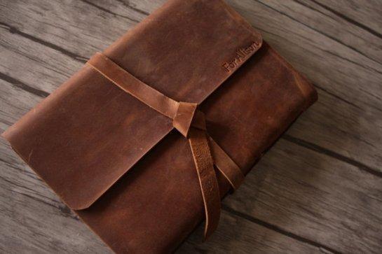 unique leather photograph albums