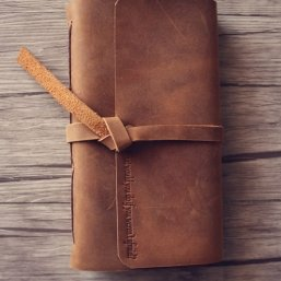 vintage leather journals