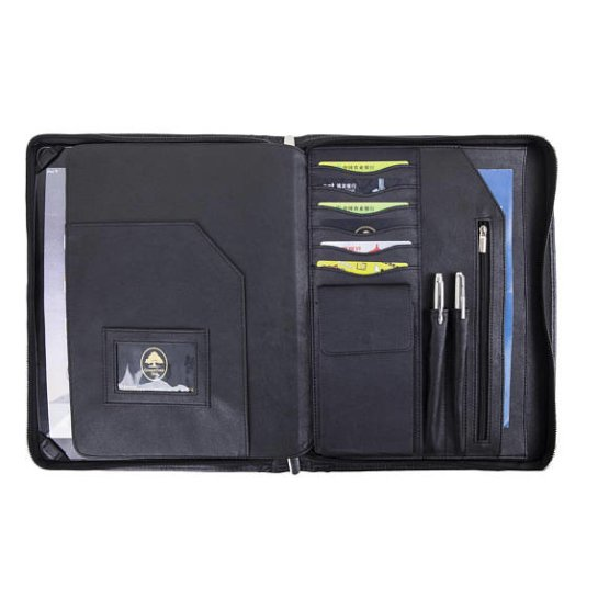 best leather portfolio notepad