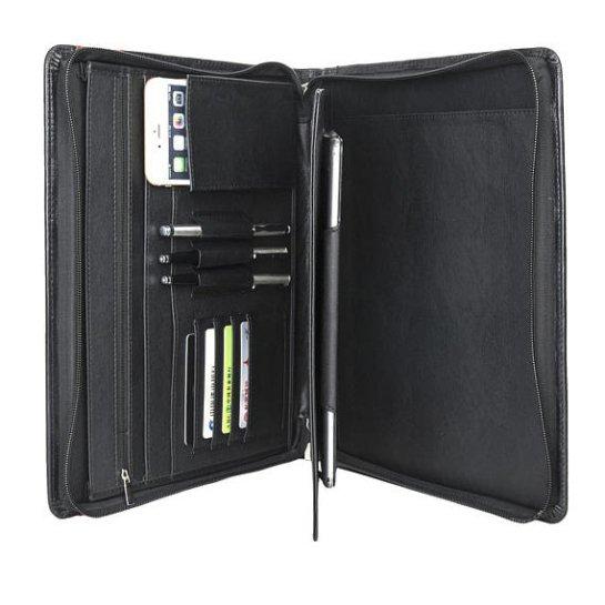 custom leather legal pad holder