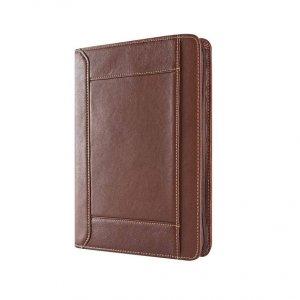 genuine leather padfolio