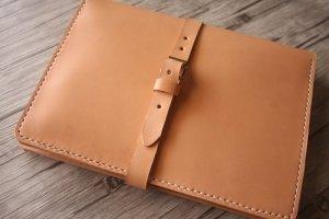 leather 3 ring binder portfolios
