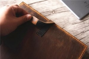 leather legal pad