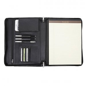 leather legal pad holder