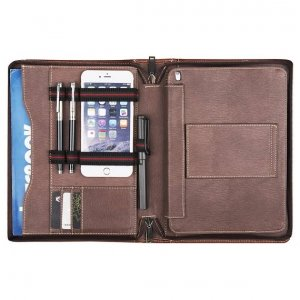 leather legal pad holder case