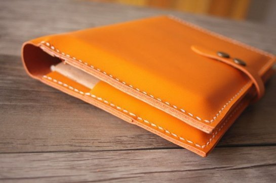 leather notebook folder