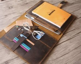 leather organizer planner