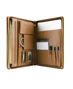 leather organizer planner case