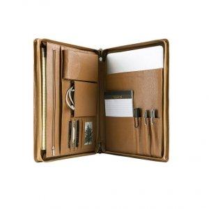 leather organizer planner case