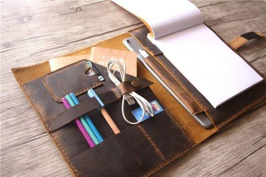 leather organizer purses