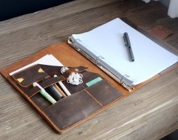 leather planner binder