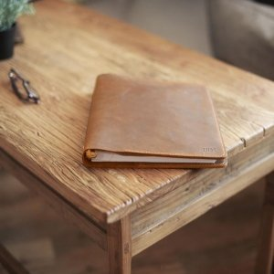 leather portfolio for women