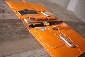 leather portfolio walmart