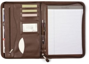 leather women's padfolio