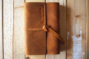 nice photo albums leather personalized