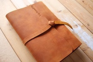 personalized leather notebooks