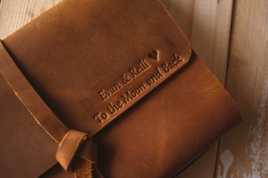 personalized nice leather photo albums