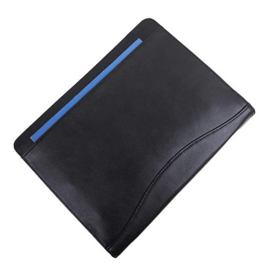 rustic leather padfolio