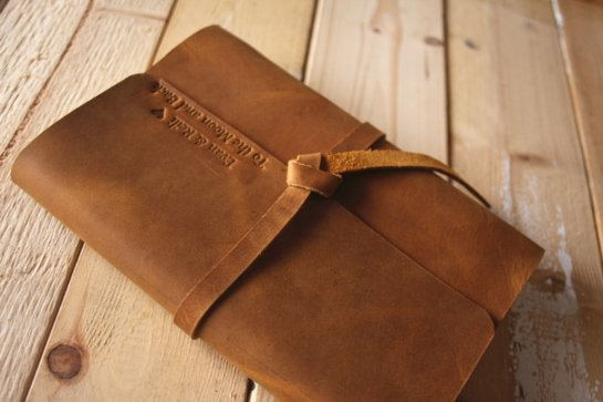 unique leather notebooks