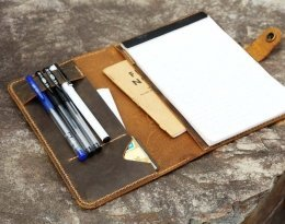 womens leather portfolio