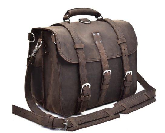 ladies leather rucksack